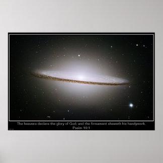 Sombrero Galaxy Inpirational Poster