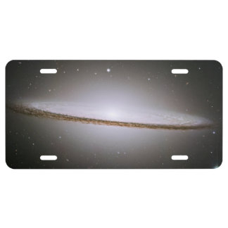 Sombrero Galaxy License Plate