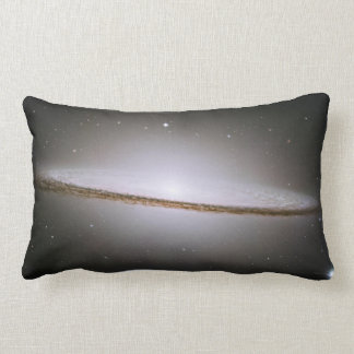 Sombrero Galaxy Lumbar Pillow