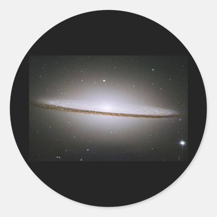 Sombrero Galaxy (M104) Classic Round Sticker