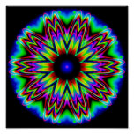 Sombrero Galaxy Mandala Poster