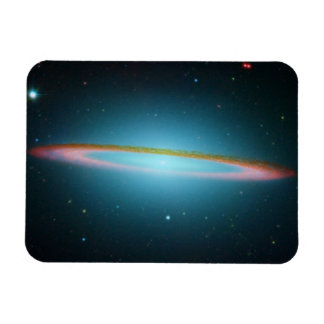 Sombrero Galaxy Space Photography Rectangular Photo Magnet