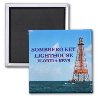 Sombrero Key Lighthouse, Florida Keys Magnet