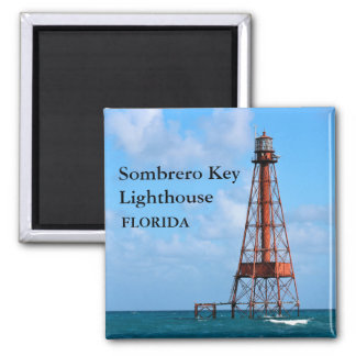 Sombrero Key Lighthouse, Florida Magnet