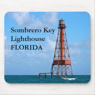 Sombrero Key Lighthouse, Florida Mousepad