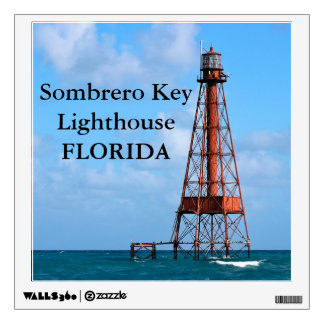Sombrero Key Lighthouse, Florida Wall Decal