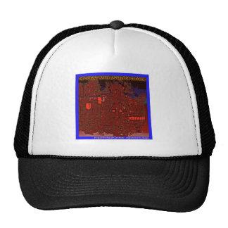sombrero por los tiempos del final gorros bordados