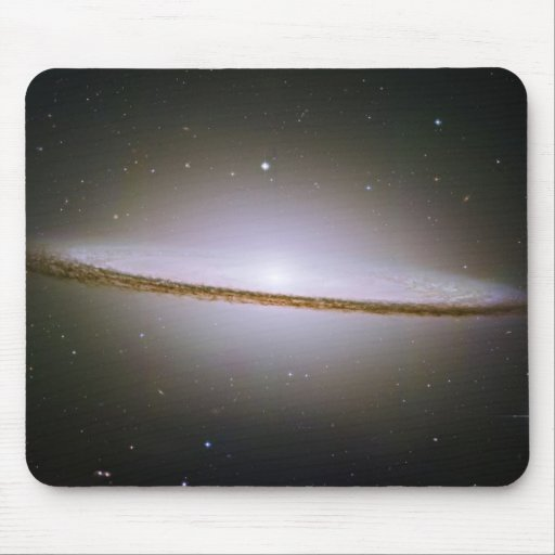 Sombrero Spiral Galaxy M104 NGC4594 Mouse Pad