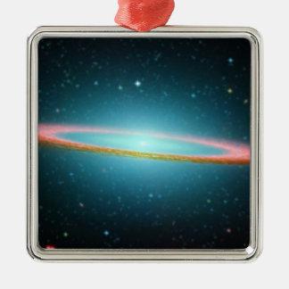 Sombrero spiral galaxy NGC 4594 Metal Ornament
