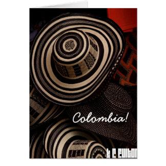 Sombrero Vueltiao, Folding Card