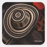 Sombrero Vueltiao: pegatina