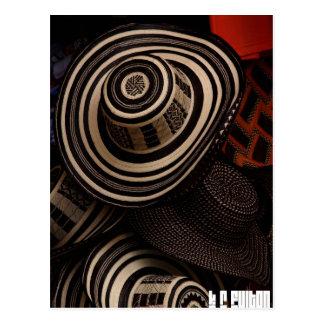 Sombrero Vueltiao: postcard