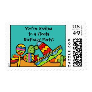 Sombrero y franqueo modificados para requisitos timbre postal