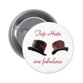 Sombreros de copa pins