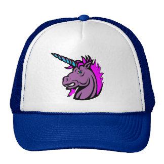 Sombreros reales del unicornio del desgaste de hom gorro de camionero