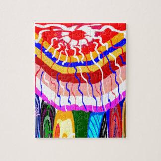 Sombrilla decorativa del toldo del toldo de la puzzle
