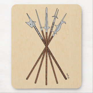 Some 16th Century Polearms Mouse Pad