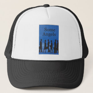 Some Angels Book Cover Products Trucker Hat