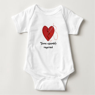 Some Assembly Required Mended Heart BodySuit