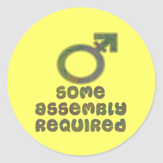 Some Assembly Required Stickers