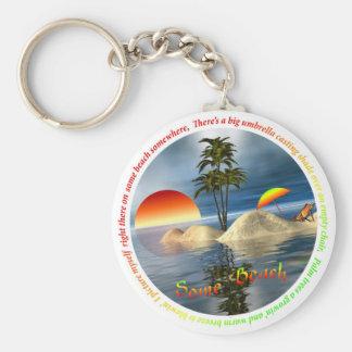 Some Beach Keychain