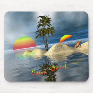 Some Beach Mouse Pad