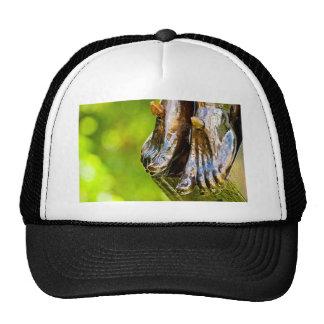 some believe in green trucker hat