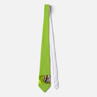some believe in green neck tie