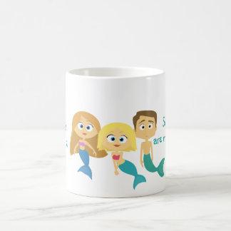"""Some Boys are Mermaids Too"" Coffee Mug"