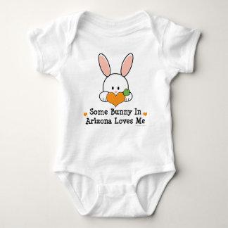 Some Bunny In Arizona Loves Me Baby Bodysuit