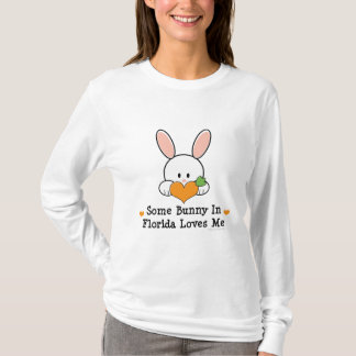 Some Bunny In Florida Loves Me Long Sleeve Tee