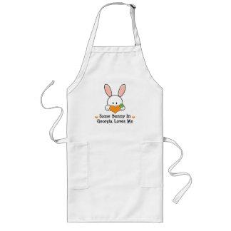 Some Bunny In Georgia Loves Me Apron