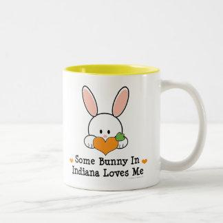 Some Bunny In Indiana Loves Me Mug