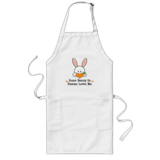 Some Bunny in Kansas Loves Me Apron