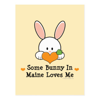 Some Bunny In Maine Loves Me Postcard