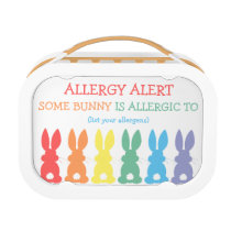 Some Bunny Is Allergic To Kids Allergy Alert Cute Lunch Box