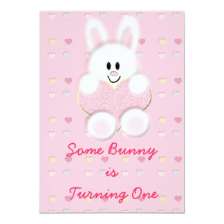 Some Bunny is Turning One Card