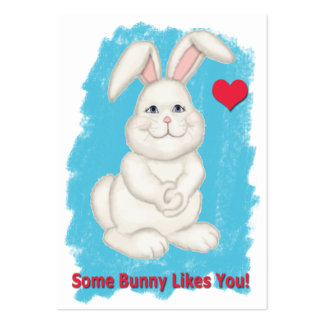 Some Bunny Like You Cards to Hand Out for Kids Business Card Template