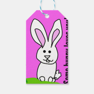 some bunny love you gift tags