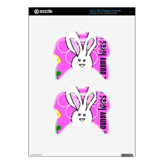 some bunny love you xbox 360 controller decal