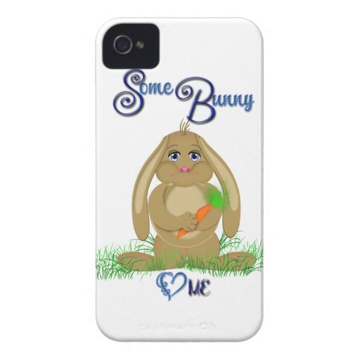 Some Bunny Loves Me Case-Mate Case Case-Mate iPhone 4 Case