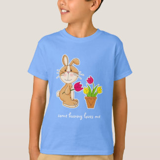 Some Bunny Loves Me. Easter Gift Kids' T-Shirts