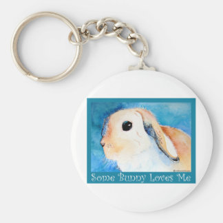 Some Bunny Loves Me Keychain