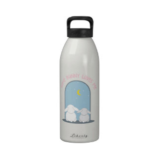 Some Bunny Loves Me Reusable Water Bottles