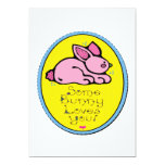 """Some Bunny Loves You 5"""" X 7"""" Invitation Card"""
