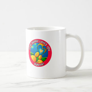 Some bunny loves you AUNTIE Coffee Mugs