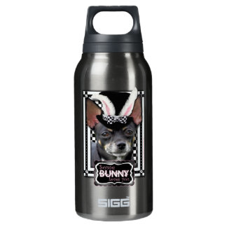 Some Bunny Loves You - Chihuahua Insulated Water Bottle