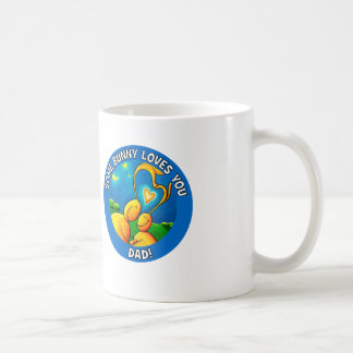 Some bunny loves you DAD Mug