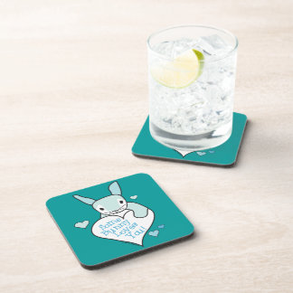 Some Bunny Loves You Drink Coaster