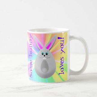 Some bunny loves you Easter bunny mug